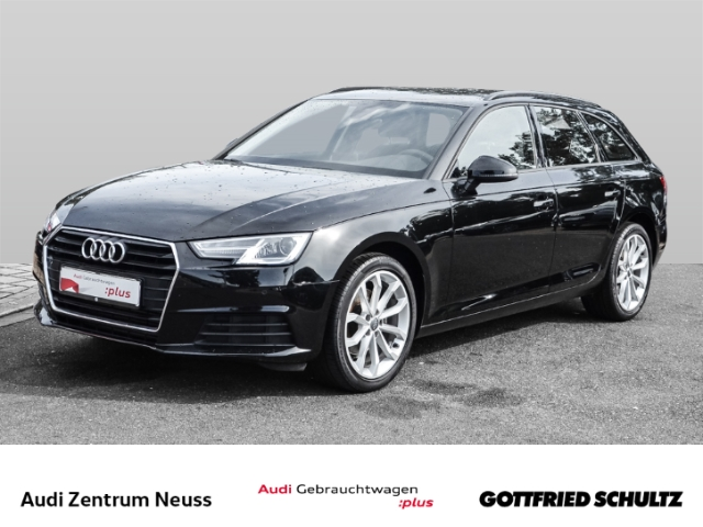 Audi A4 Avant 2.0 TFSI basis ultra NAV CLIM SHZ FSE MUFU, Jahr 2018, Benzin