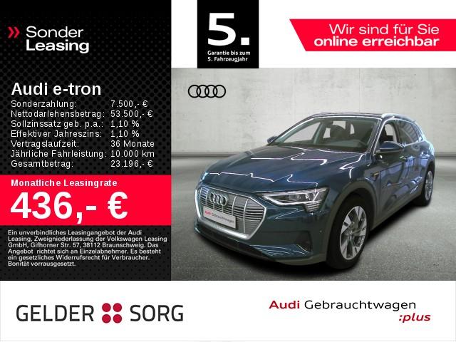 Audi e-tron 50 quattro*Ambiente*SHZ*Virtual*LED, Jahr 2020, Elektro