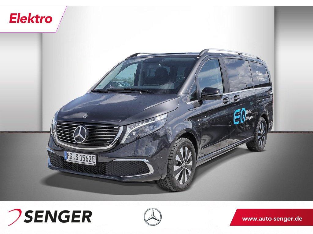 Mercedes-Benz EQV 300 Avantgarde lang LED MBUX Distronic 360°, Jahr 2020, Elektro