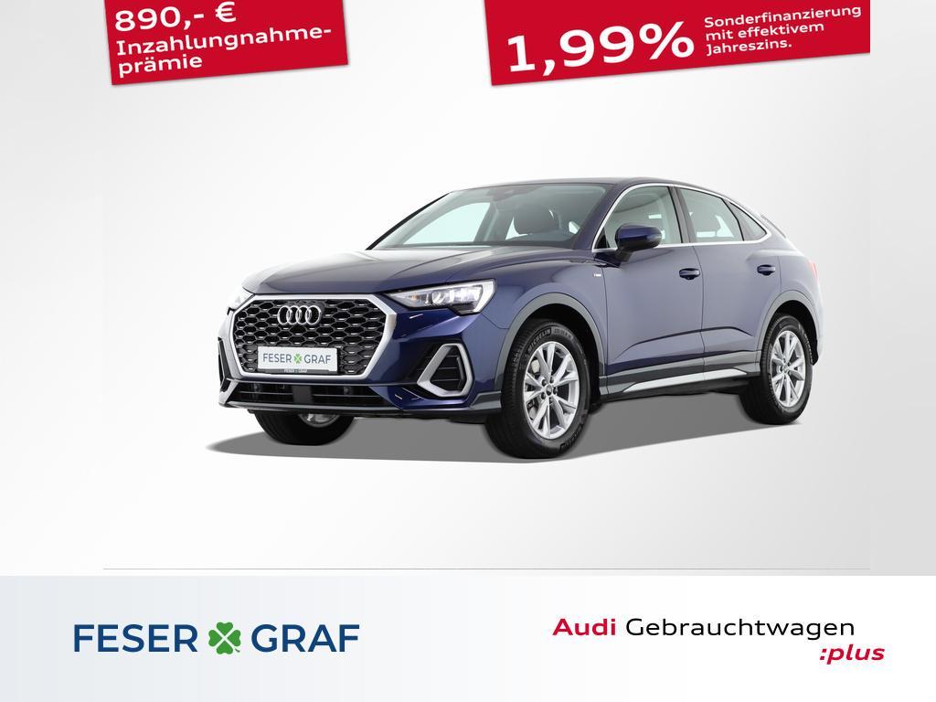 Audi Q3 Sportback S line 35 TFSI Virtual/Navi/Kamera, Jahr 2021, Benzin