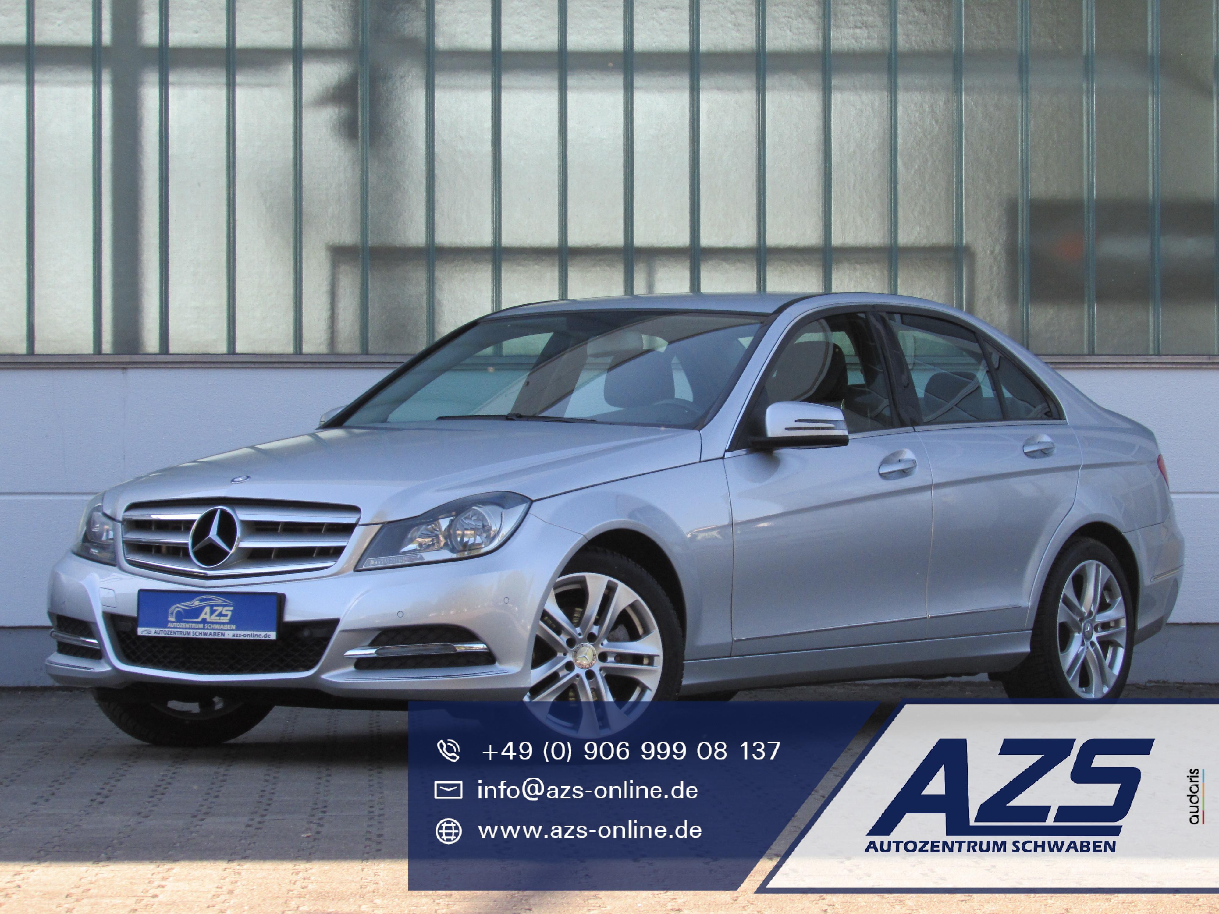 Mercedes-Benz C 180 | Klimaauto. | Parkhilfe v|h | Alu | 1,99%, Jahr 2012, Benzin