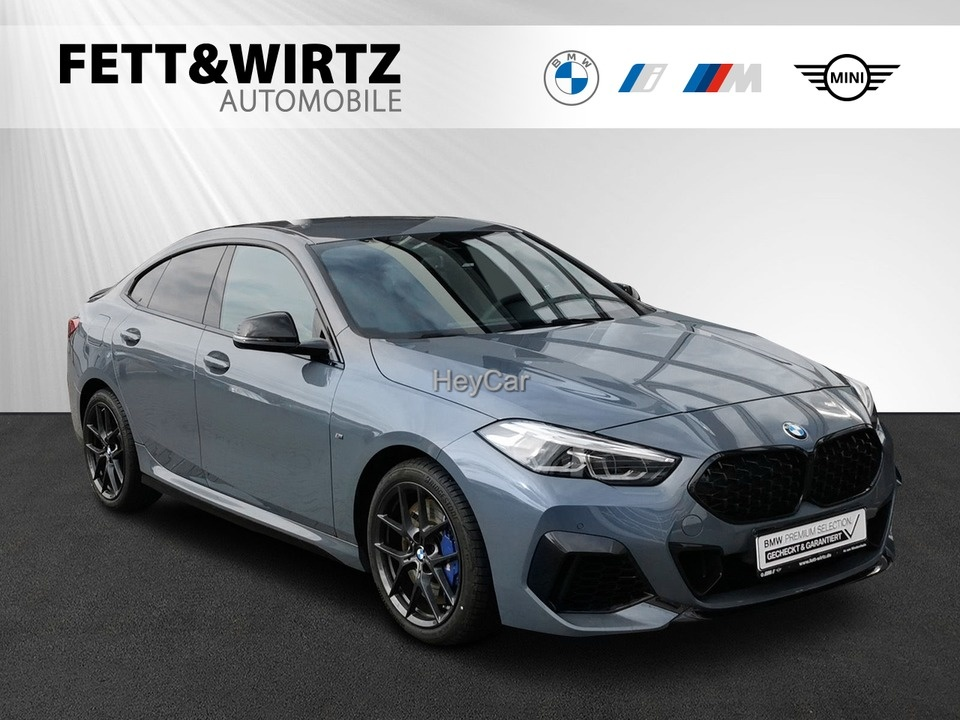 BMW M235 i xDrive Gran Coupe GC SAG Navi HUD LED DAB WLAN Alarm, Jahr 2020, Benzin