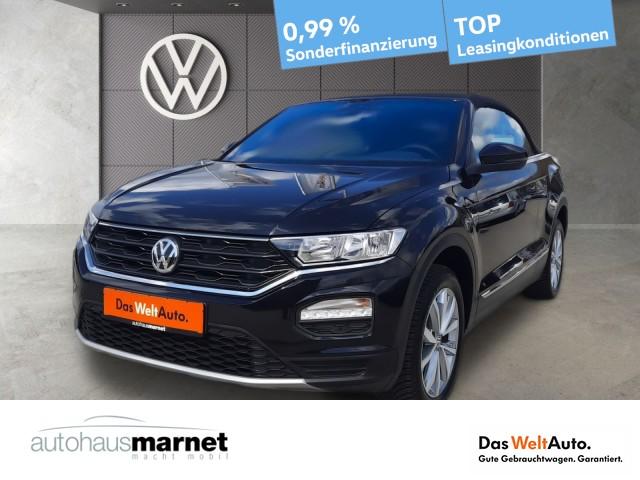 Volkswagen T-Roc Cabriolet 1.0 TSI Style App Connect ACC Klima, Jahr 2020, Benzin