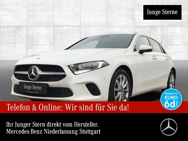 Mercedes-Benz A 180 Progressive Spurhalt-Ass PTS Sitzh Temp, Jahr 2019, Benzin