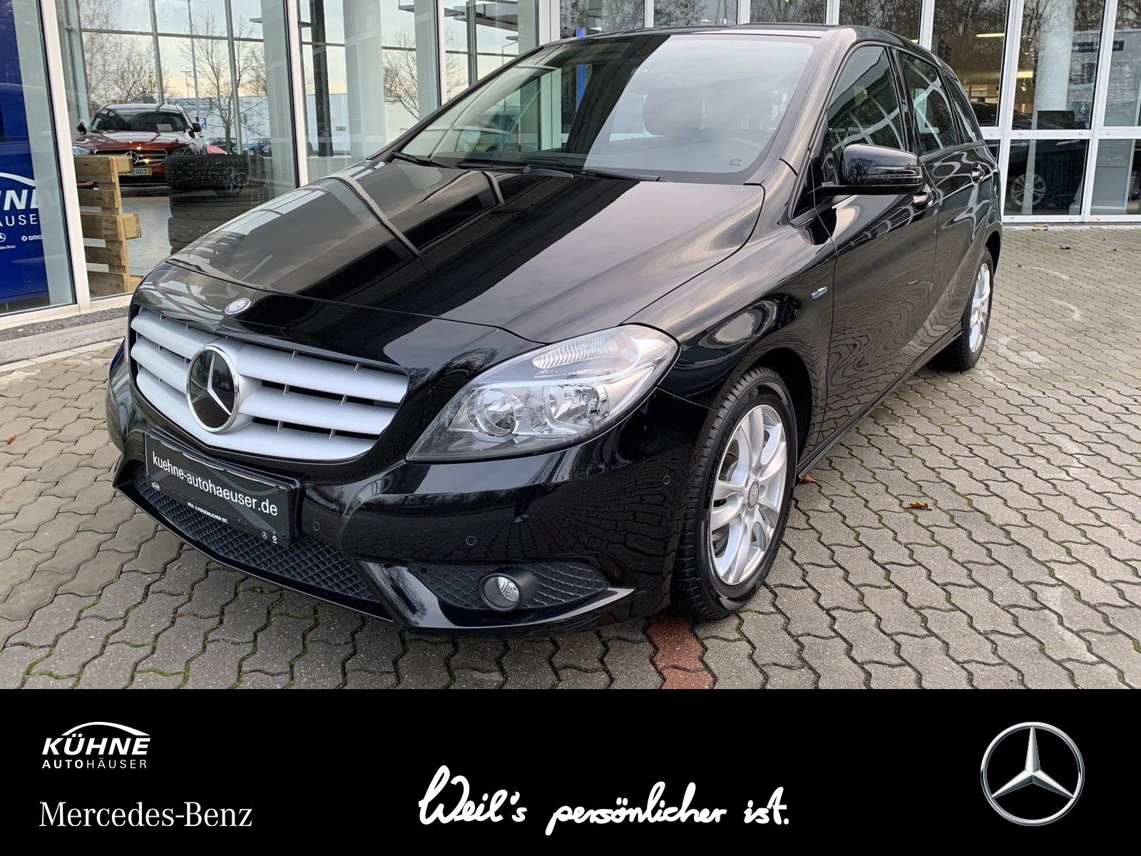 Mercedes-Benz B 180 LED+Navi+Klima+Media-Interface+Sitzkomfort, Jahr 2012, petrol