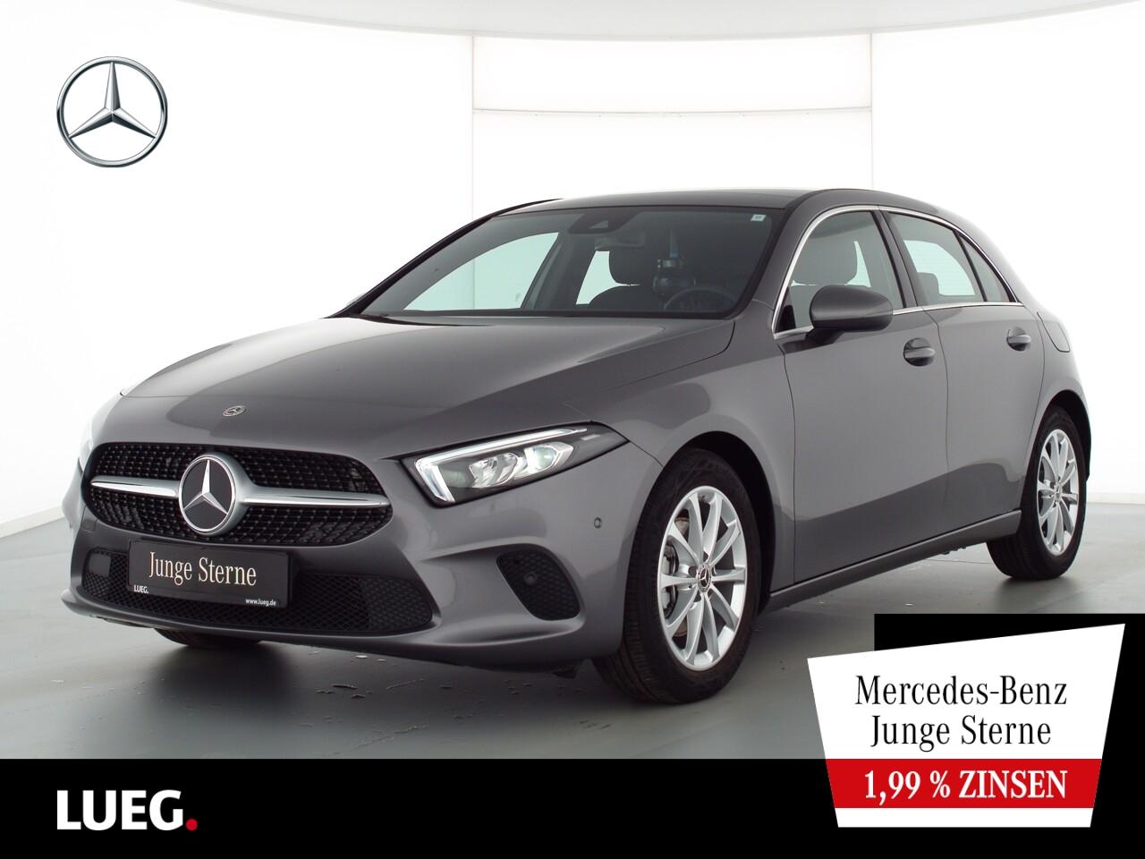 Mercedes-Benz A 200 Progressive+MBUX+NavPrem+Pano+LED-HP+RFK, Jahr 2020, Benzin