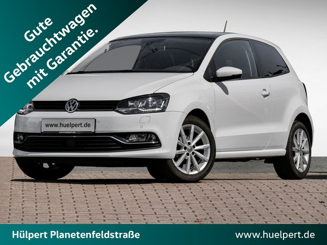 Volkswagen Polo 1.4 TDI Highline LED NAVI PANO ACC FRONT ASSIST ALU PDC, Jahr 2016, Diesel