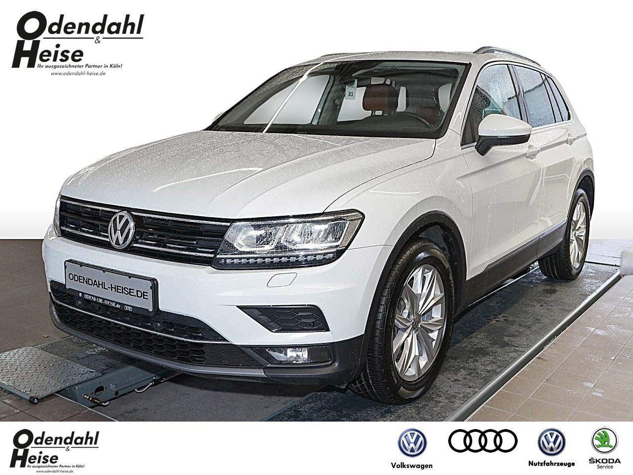 Volkswagen Tiguan 2,0 l TDI 4MOTION Highline Klima Navi, Jahr 2017, Diesel