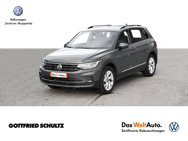 Volkswagen Tiguan 1 5 TSI Life LED NAVI SHZ PDC LM ZV DAB, Jahr 2021, Benzin