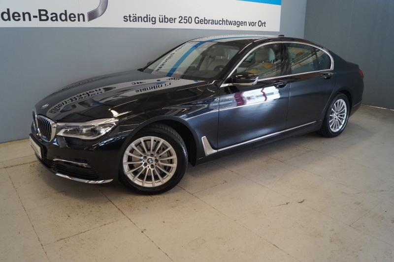 BMW 740d xDrive Innovationsp. Navi PDC Laserlicht Komfortsitze Sitzlüftung Soft, Jahr 2017, Diesel