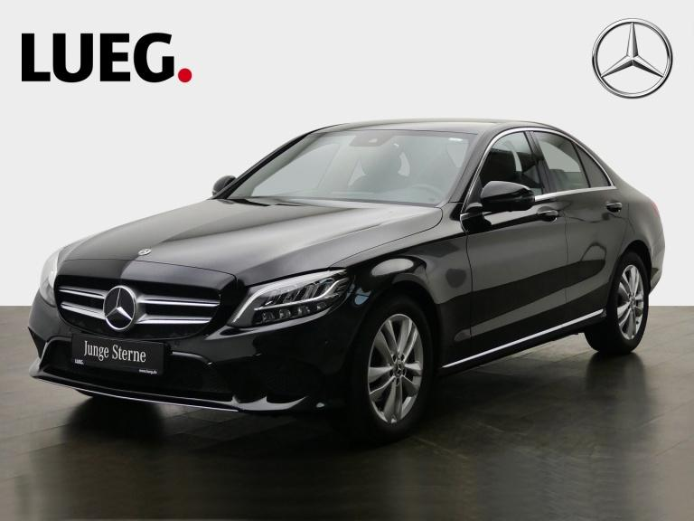 Mercedes-Benz C 200 Avantgarde+Navi+LED-HP+Sthzg+CarPlay+360°+, Jahr 2019, Benzin