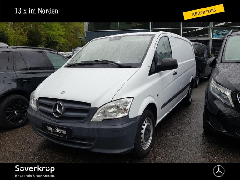 Mercedes-Benz Vito 113 CDI Kasten/lang/Standheizung/Hecktüren, Jahr 2013, Diesel