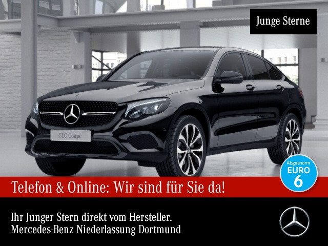 Mercedes-Benz GLC 250 d Cp. 4M 360° LED AHK Night Navi PTS 9G, Jahr 2016, Diesel