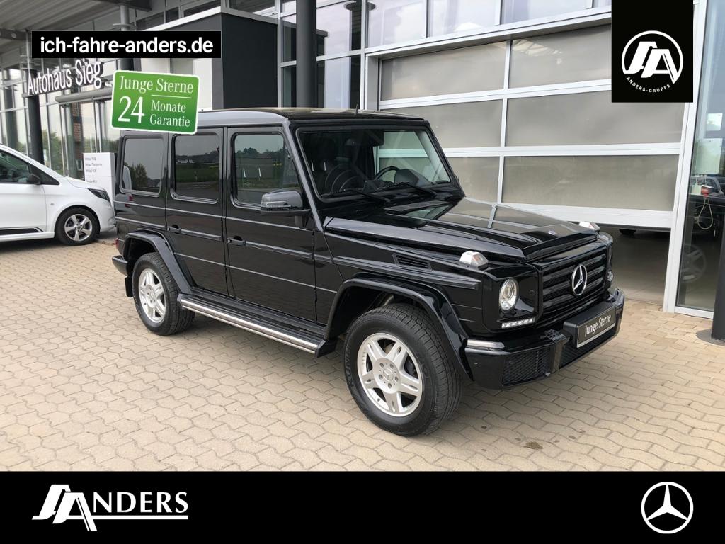 Mercedes-Benz G 350 d AHK+Standheizung+Comand+PDC+SHZ+R-Kamera, Jahr 2016, Diesel