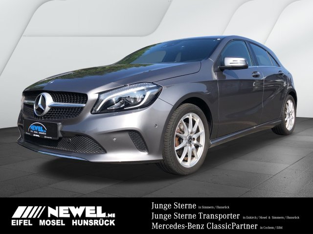 Mercedes-Benz A 220 4M *LED*NAVI*KLIMA*TEMPOMAT*EPH*SHZ*URBAN*, Jahr 2017, Benzin