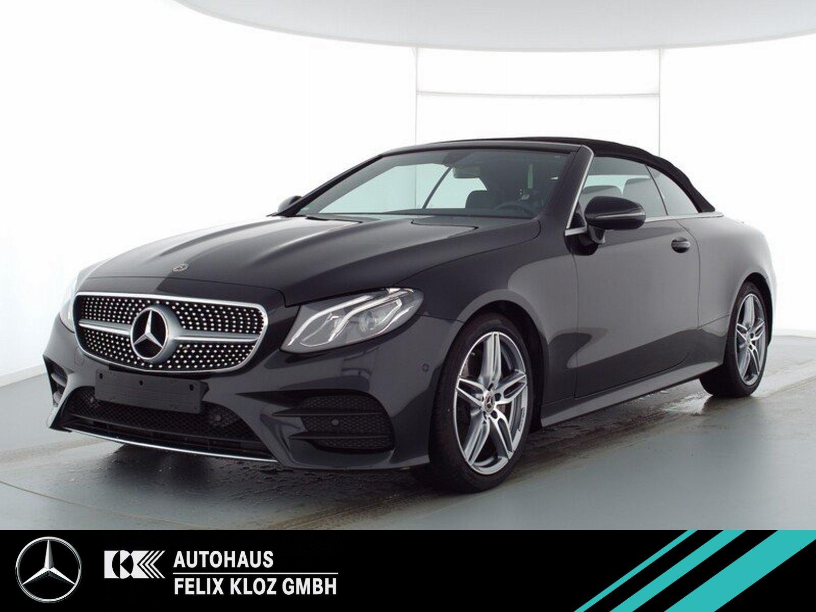 Mercedes-Benz E 200 Cabrio AMG*Burmester*Totwinkel*Navi*Kamera, Jahr 2019, Benzin