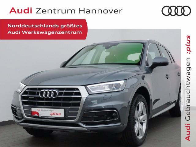 Audi Q5 2.0 TDI Sport HuD Pano AHK Keyless ACC Navi, Jahr 2018, Diesel