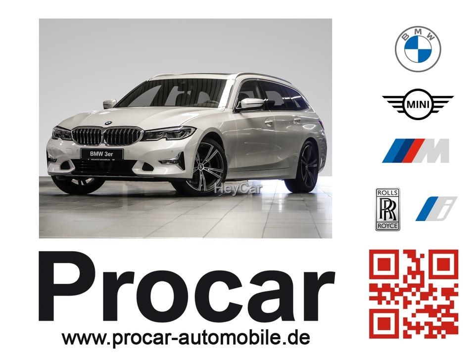 BMW 318i Touring Luxury Line Laser Pano Navi Leder, Jahr 2020, Benzin