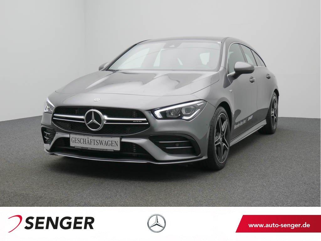 Mercedes-Benz CLA 35 AMG 4M SB Navi-Premium LED Ambiente-Bel., Jahr 2020, Benzin