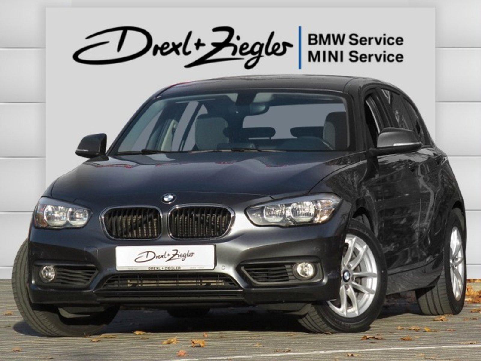BMW 120d 5-t. Advantage Navi CD SHZ PDC Alu16 MFL, Jahr 2017, Diesel