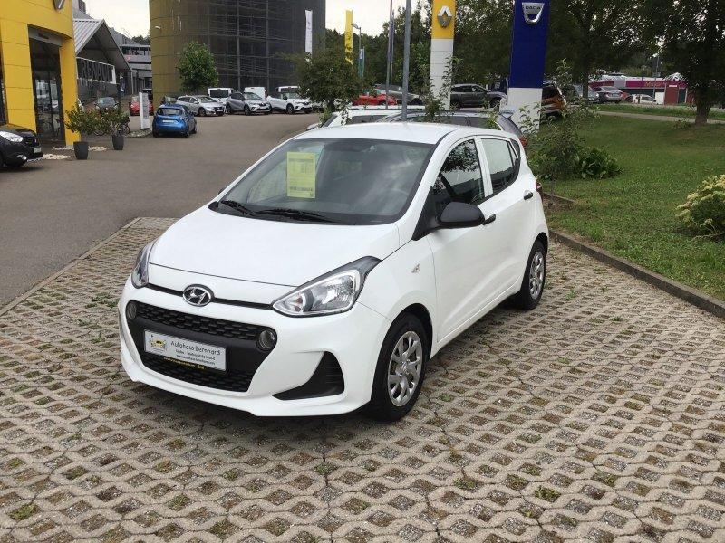 Hyundai i10 1.0 Classic (Euro 6), Jahr 2017, Benzin