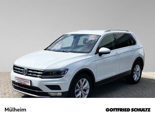Volkswagen Tiguan 2.0 TDI Navi virtuelles Cockpit Highline, Jahr 2017, Diesel