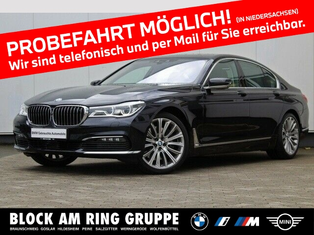 BMW 750i xDrive Limo IAL GSD DA+ 360 Laser, Jahr 2016, Benzin
