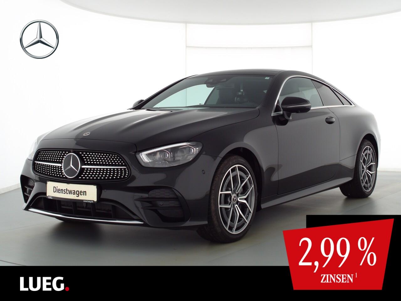 Mercedes-Benz E 220 d 4M Coupé AMG+SITZKLIMA+FAHRASS+PANO+360°, Jahr 2021, Diesel