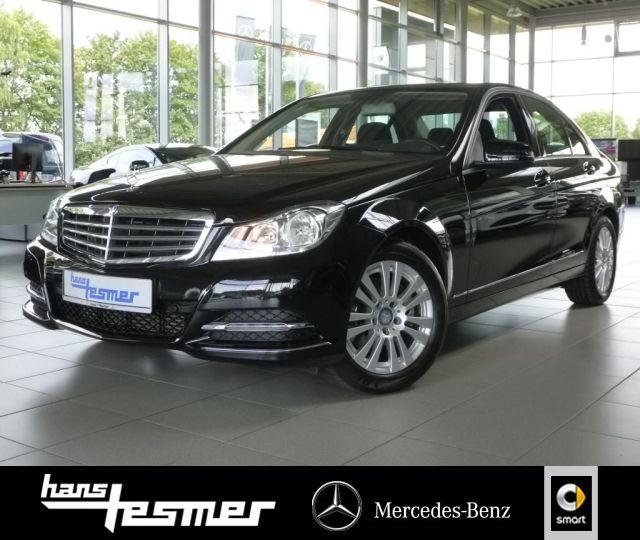Mercedes-Benz C 200 NAVI Vorrüstung+AUTOMATIK+PDC, Jahr 2014, Benzin