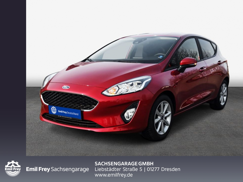 Ford Fiesta 1.0 EcoBoost S&S COOL&CONNECT Navi PDC, Jahr 2019, Benzin