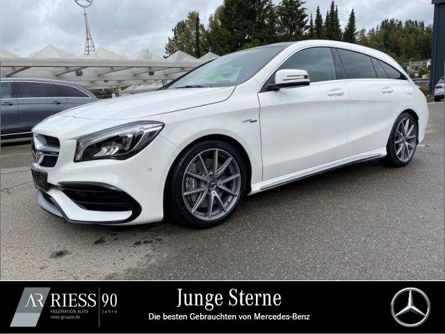 Mercedes-Benz CLA 45 AMG 4M SB Harman+Designo+Comand+Distronic, Jahr 2018, Benzin