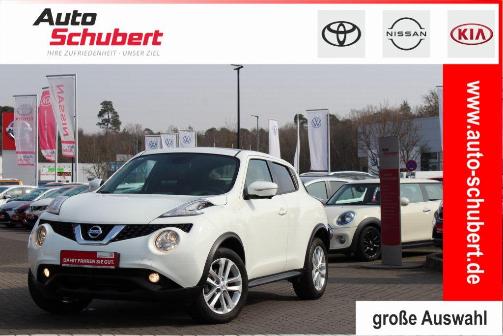 Nissan Juke 1.2 DIG-T N-Connecta+Navi+Technology-Paket+Interieur-Paket, Jahr 2016, Benzin