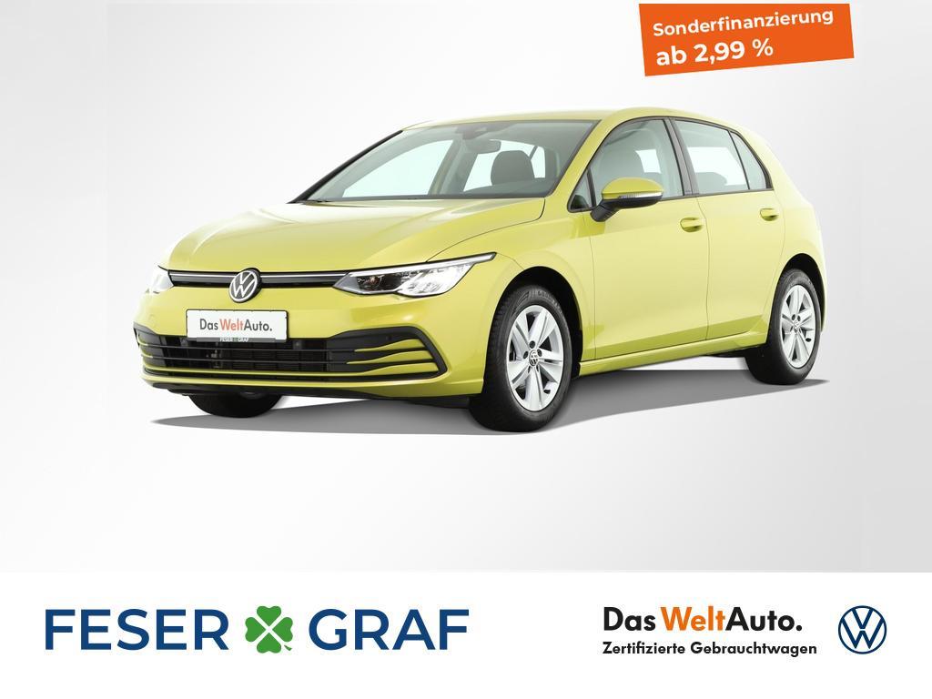 Volkswagen Golf 1.5 TSI Life (OPF) Aktions-Pakete, Jahr 2020, Benzin
