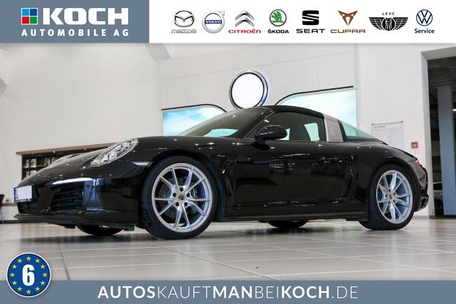 Porsche 911 (991) Targa 4 LED NAVI BOSE ACC LEDER TOP SHZ, Jahr 2017, Benzin