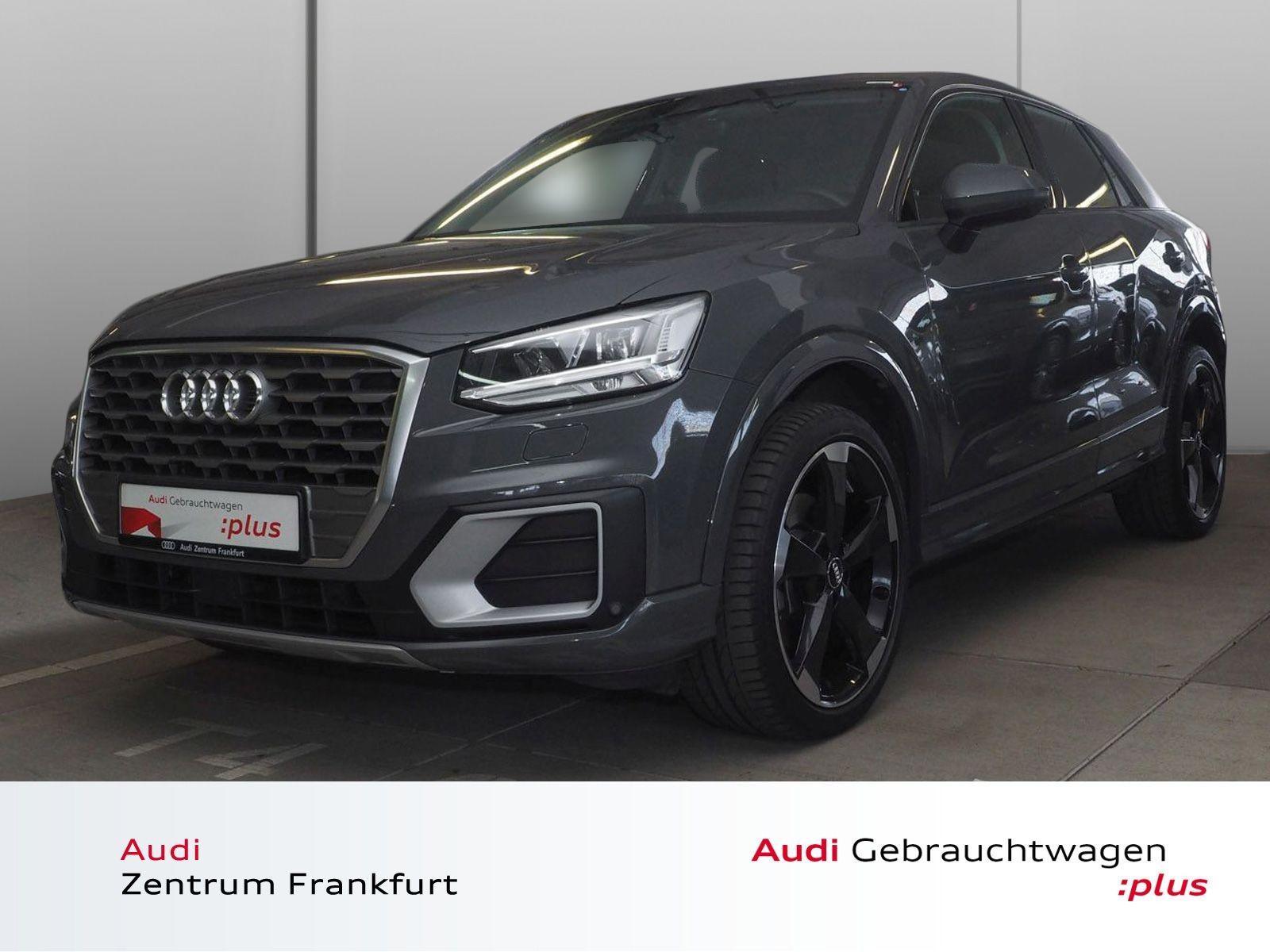 Audi Q2 1.4 TFSI sport S tronic LED Navi B&O HuD DAB, Jahr 2018, Benzin