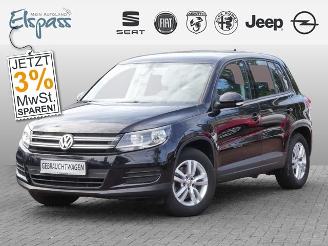 Volkswagen Tiguan Trend & Fun BMT 1.4 TSI PDCv+h KLIMAAUTOM TEMP CD MP3 ESP MAL, Jahr 2014, Benzin