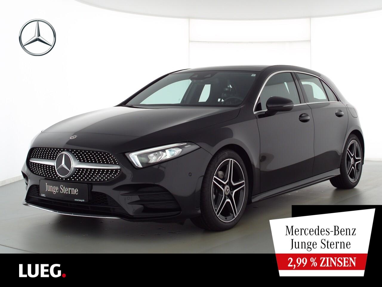 Mercedes-Benz A 180 AMG+MBUXHighEnd+Pano+LED-HP+AParkAssistent, Jahr 2020, Benzin