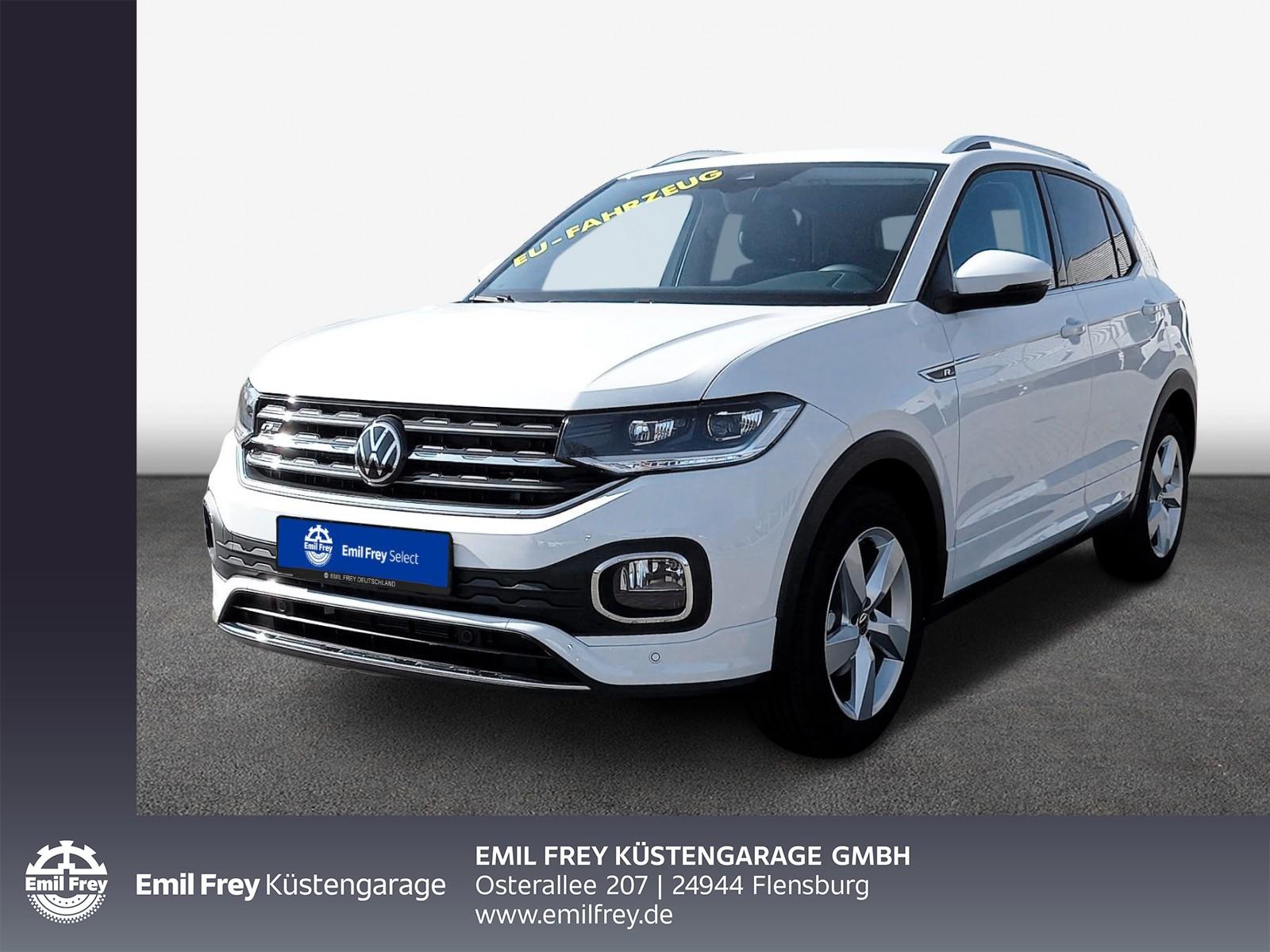 Volkswagen T-Cross 1.0 -Style- DSG Navi/ ACC/ SHZ/ PDC, Jahr 2021, Benzin