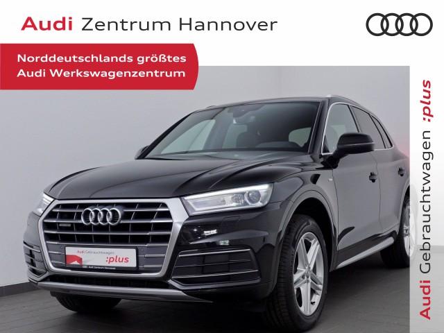 Audi Q5 40 TDI qu. sport, S-line, Navi, Teilleder, Kamera, Xenon, Jahr 2019, Diesel