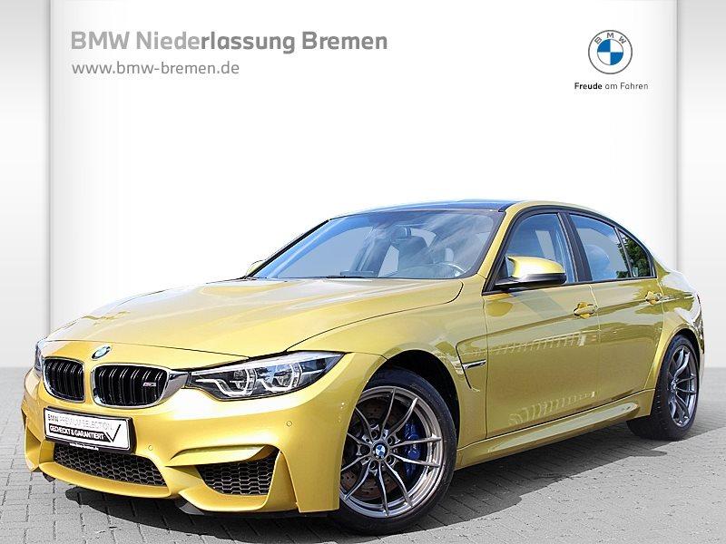 BMW M3 Limousine LED Navi Prof. RTTI Fl.Ass. Alarm, Jahr 2018, Benzin