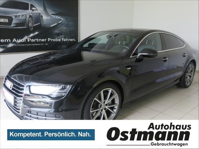 Audi A7 Sportback 3.0TDI quattro BOSE*LED*Navi*S-line, Jahr 2014, diesel