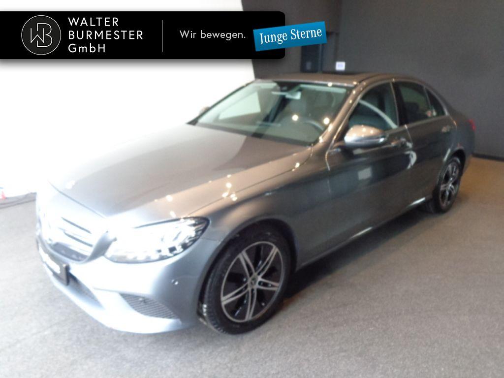 Mercedes-Benz C 180 Avantgarde+Spur-P.+LED+Kamera+Navi, Jahr 2020, Benzin