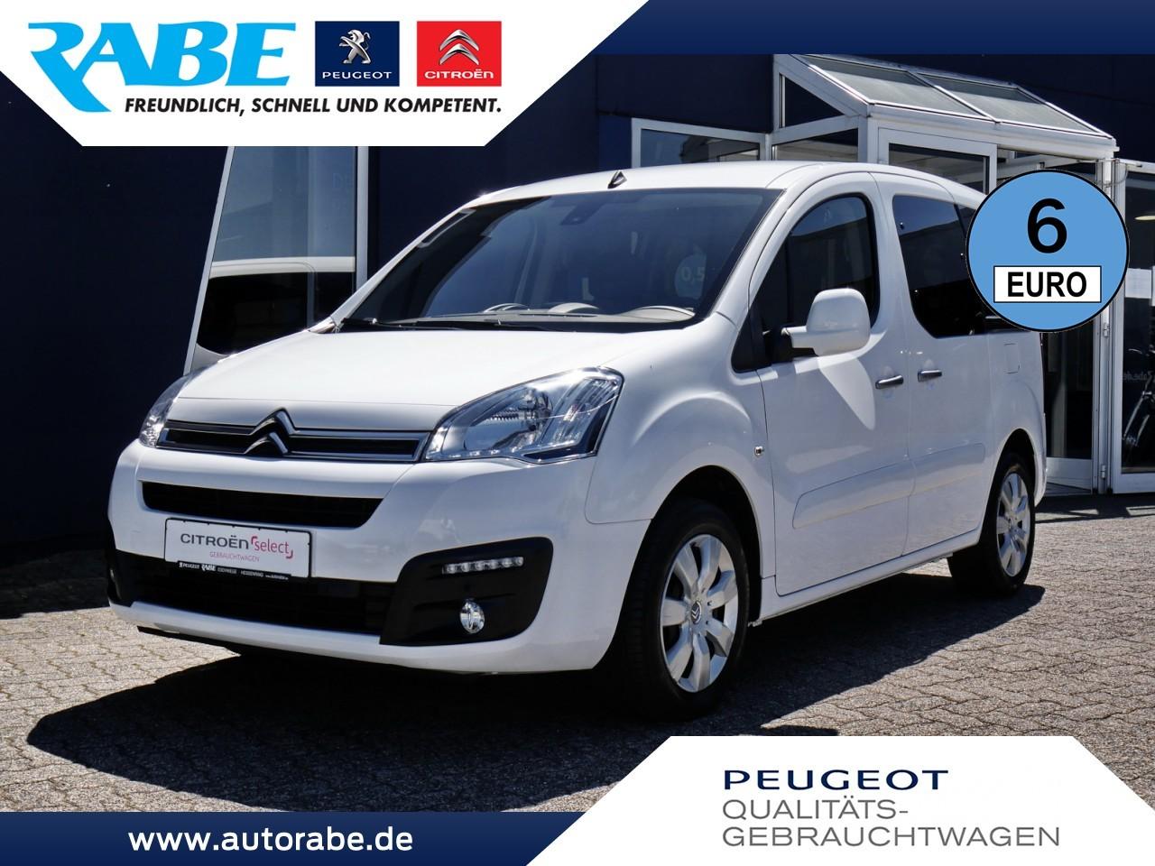 Citroën Berlingo Multispace Selection 100 HDi NAV+PDC, Jahr 2017, Diesel