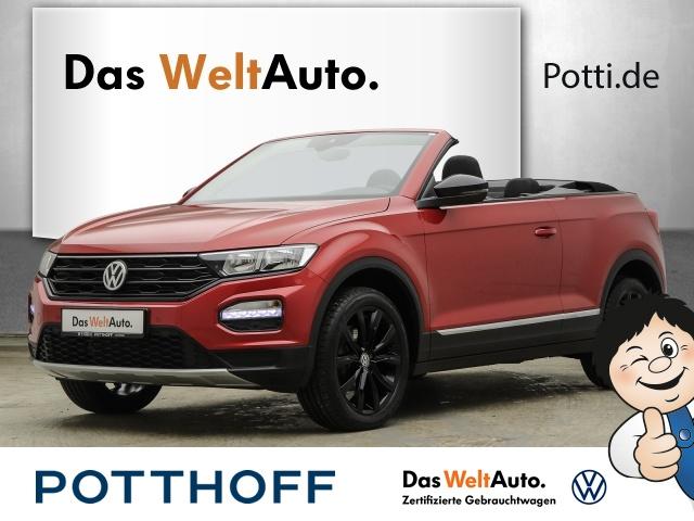 Volkswagen T-Roc Cabriolet 1.0 TSI BMT STYLE Navi Black Style, Jahr 2020, Benzin