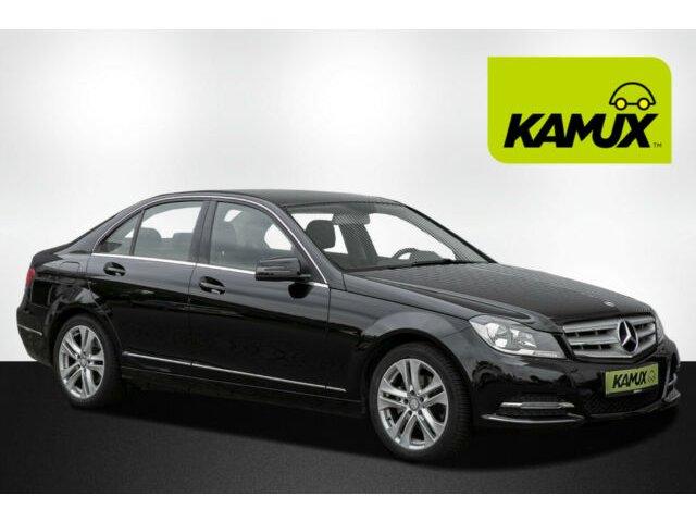 Mercedes-Benz C180 CGI Lim 7G-Tronic+Nav+PDC+SHZ+Teilleder+EU6, Jahr 2013, Benzin