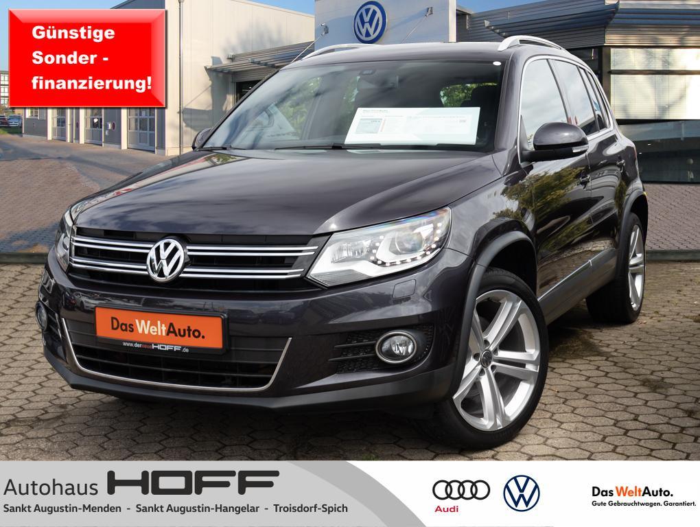 Volkswagen Tiguan 1.4 TSI Lounge 19Alu AHK Xenon Navi Kame, Jahr 2016, Benzin