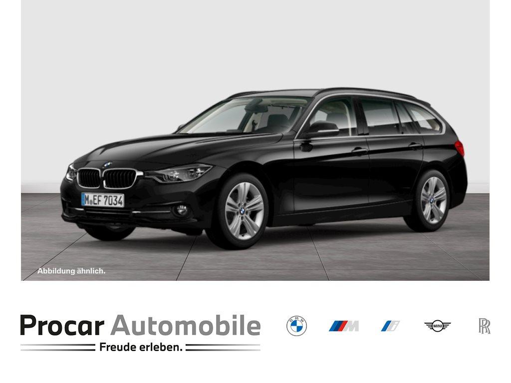 BMW 318d Touring Sport Line Navi LED Klimaaut., Jahr 2018, Diesel