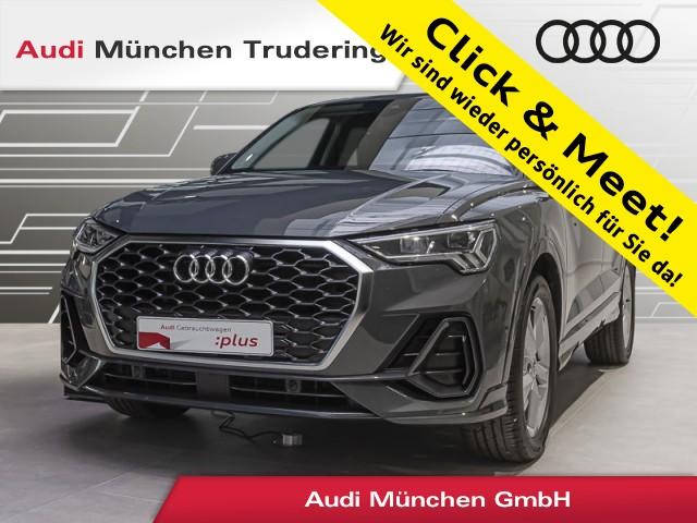 Audi Q3 Sportback 35 TDI S tronic Virtual/Navi+/AHK/LED/, Jahr 2020, Diesel