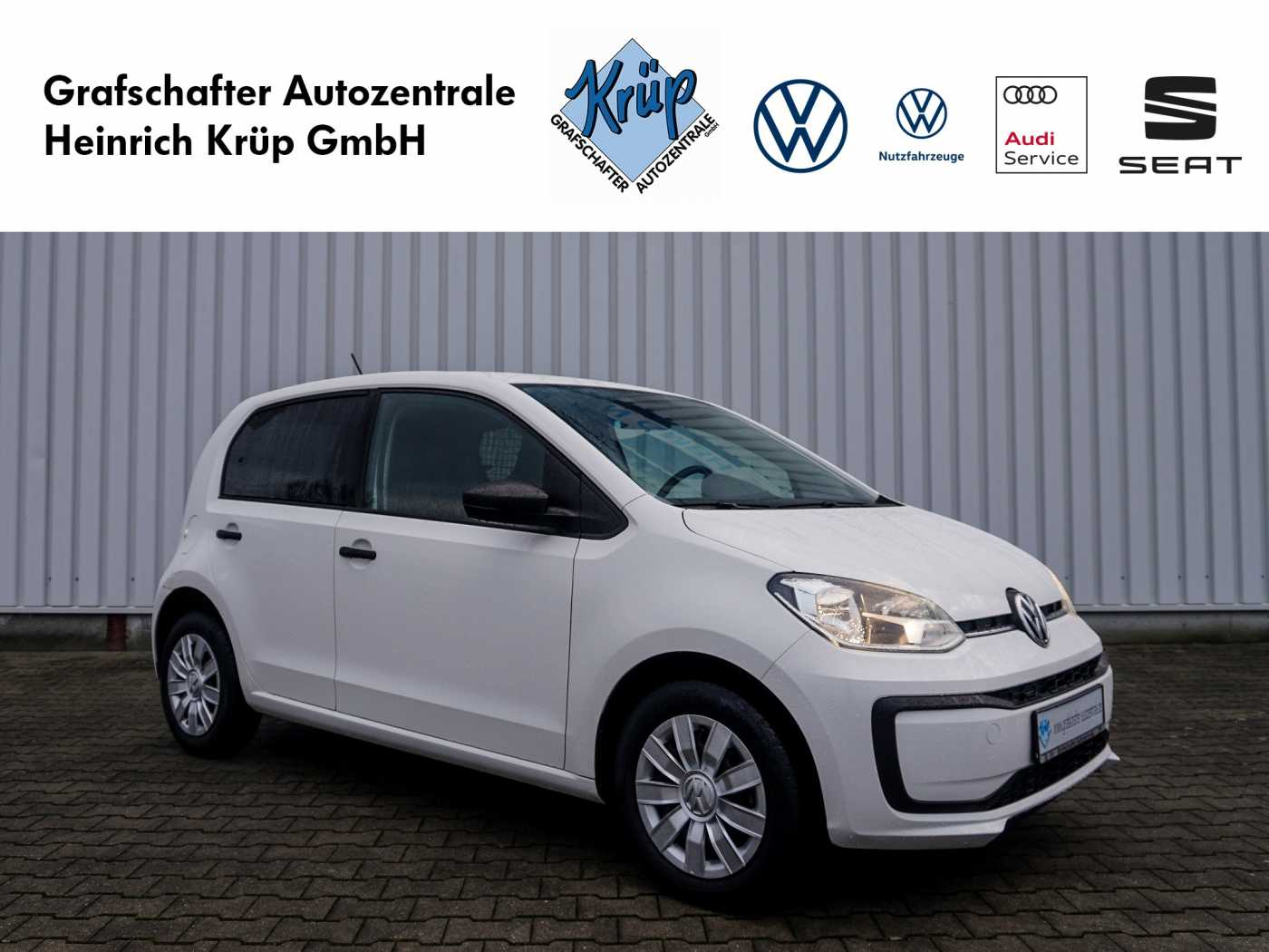 Volkswagen up! load up!, Jahr 2016, Benzin