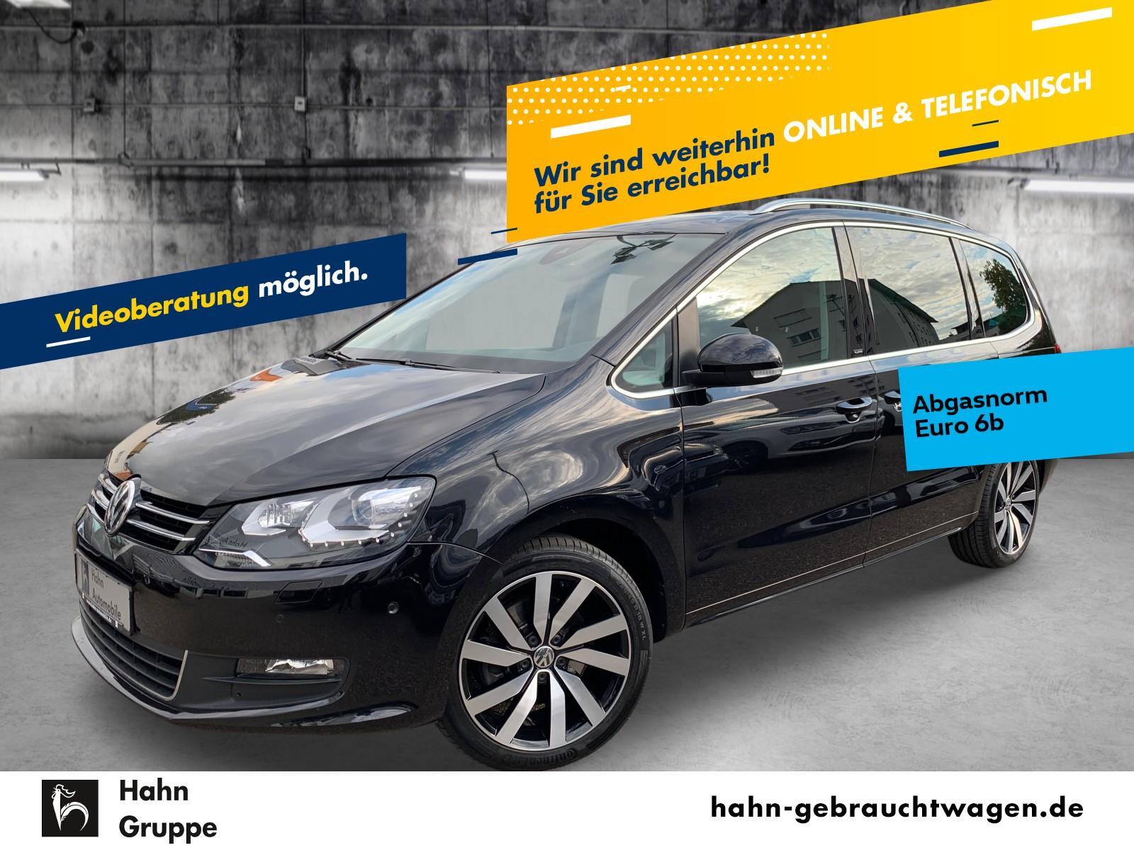 Volkswagen Sharan ALLSTAR 2,0TDI 7-Sitz Nav Pan Xen ACC AHK, Jahr 2016, Diesel